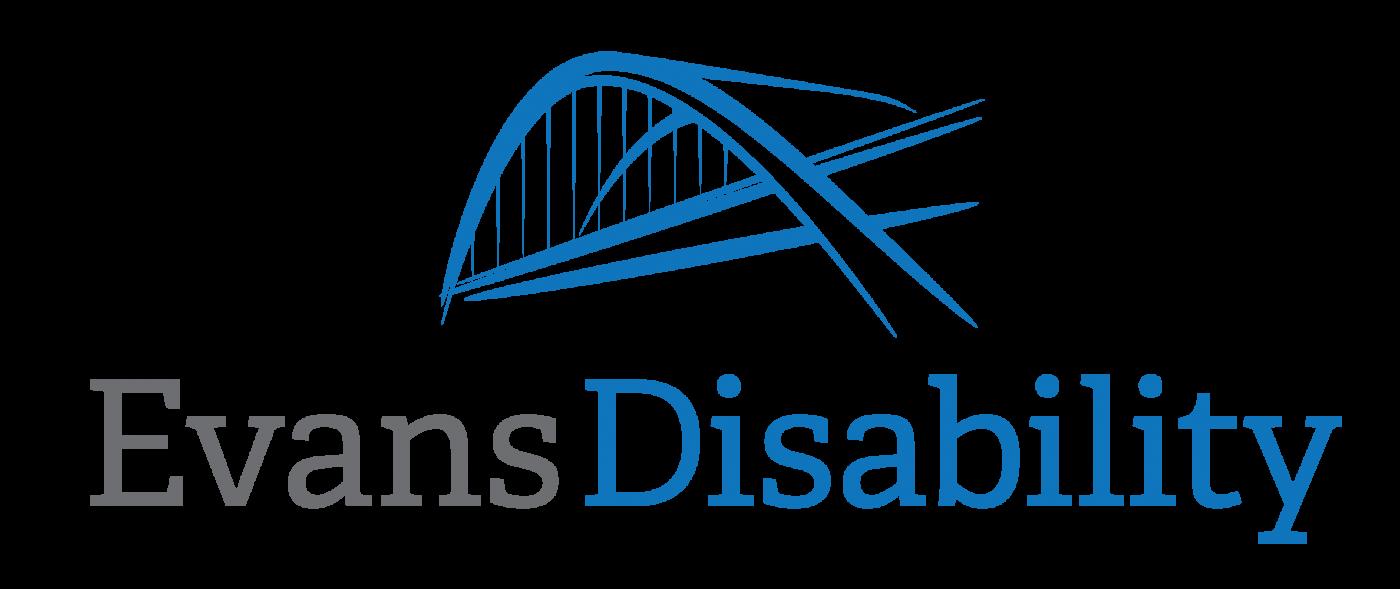 Logo for Evans Disability